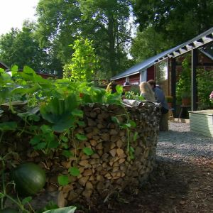 Nyckelhålsträdgården på Strömsö