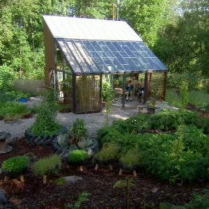 ett växthus
