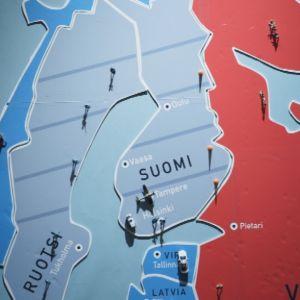 """""""Nato-suhdettaan pohdiskelevalla Suomella on 1 300 kilometriä yhteistä maarajaa Vanäjän kanssa."""""""