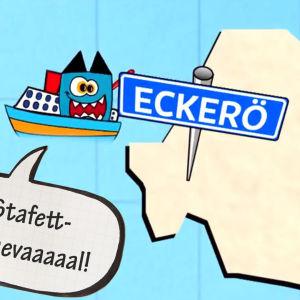 Eckerö skola förbereder sig för stafettkarneval