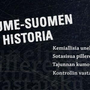 Huume-Suomen historia dokumenttisarjan banneri
