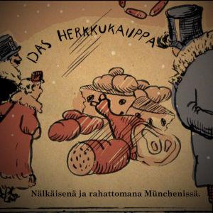 Sibelius nälkäisenä ja rahattomana Münchenissä
