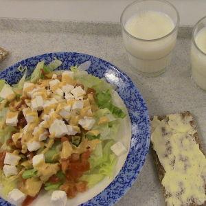 Salaattiannos, Karjaan yläaste