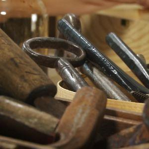 Rostiga verktyg