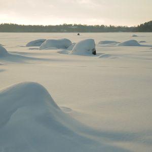 Talvimaisema Seurasaaren edustalla