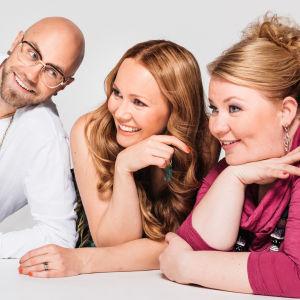 Heikki Soini, Marja Hintikka, Jenny Lehtinen