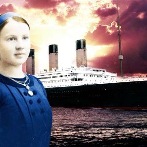 Helmi Juurakko Titanicin edustalla