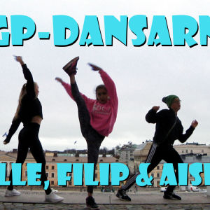 MGP-dansarna vid inspelning av webbserien MGP-dansarna.
