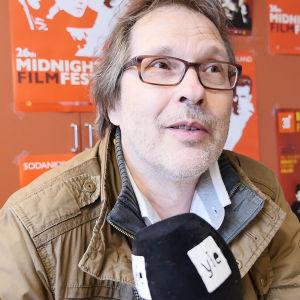 Ohjaaja Tapio Piirainen Sodankylän elokuvajuhlilla.