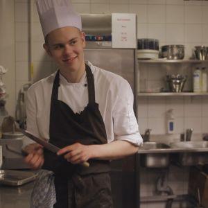 Daniel Nyqvist som medverkar i tv-serien Andra stadiet