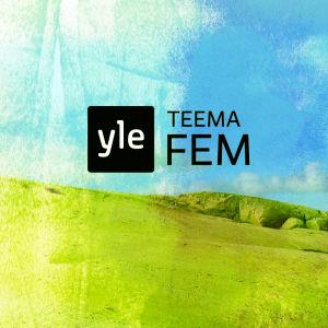 Logotypen på den nya kanalplatsen. Yle Fem behåller sitt namn på den gemensamma kanalplatsen som heter Yle Teema & Fem.