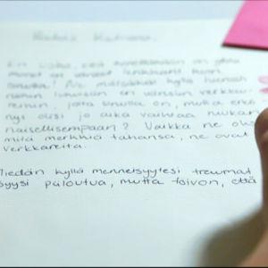 Tuhkimotarinoiden Katriinan kirje