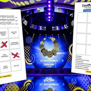 Vuoden 2017 Euroviisujen viisubingo