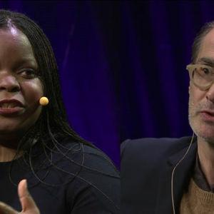Petina Gappah ja Aris Fioretos