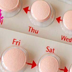 p-piller i sin förpackning