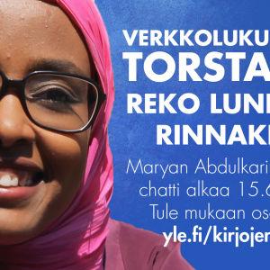 Maryan Abdulkarimin verkkolukupiirin loppukeskustelu on 15.6. klo 19