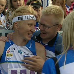 Mårten Boström vann VM-guld 2013.
