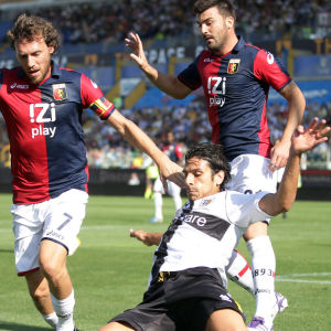 Italialaisia jalkapallopelaajia