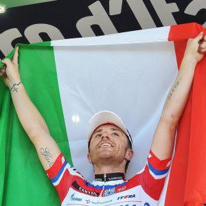 Giro d'Italian kilpailija Luca Paolini