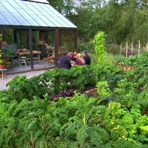 Strömsön ranskalainen puutarha