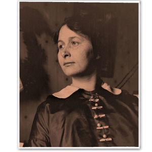 Alma Kuula vuonna 1914.