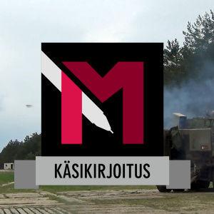 MOT:n ohjelmien käsikirjoituksiin liitettävä logokuva.