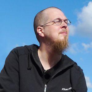 Kirjailija Tuomas Kyrö vuonna 2009.