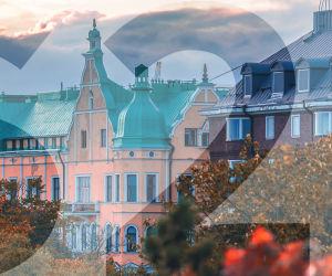 Maisema Helsingistä.