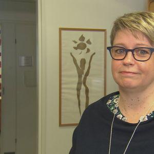Jeanette Pajunen är hälso- och sjukvårdsdirektör på Åland
