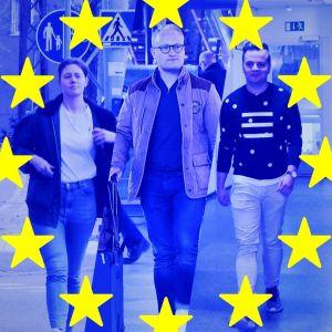 Tara, Ville och Jesper får rösta i EU-valet.