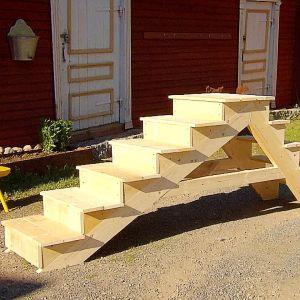 En trappa