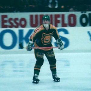 Risto Siltanen edusti syksyllä 1978 Tampereen Ilvestä.