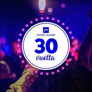 Radio Suomi 30 vuotta -logo