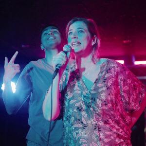 Filip och Mona i serien med samma namn.
