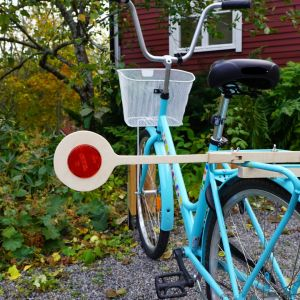 En sting på en cykelgpinne