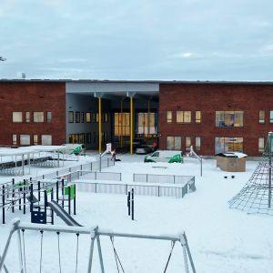 Tohmajärven uusi koulukeskus.