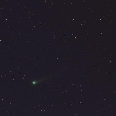 Kometen Lovejoy i rymden.