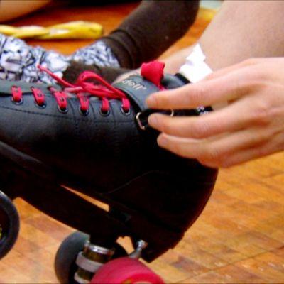 Förberedelser på Helsinki Roller Derby:s Bootcamp