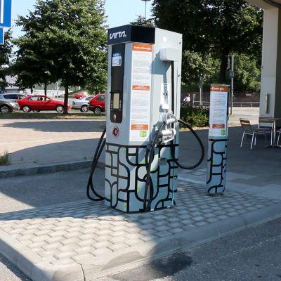 Laddningsstation för elbilar i Åbo