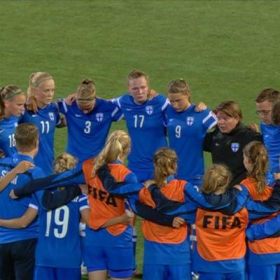 Damernas U20-landslag vid VM i Kanada 2014