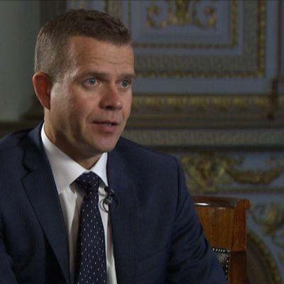 Petteri Orpo är jord- och skogsbruksminister sedan i somras.
