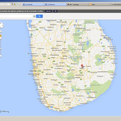 Badulla-distriktet i Sri Lanka