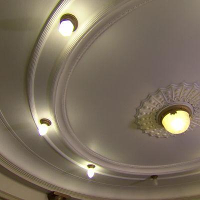 Dekorerat tak på Vasa Teater