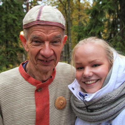 Jaakko Kolmonen ja Amanda Rekola.
