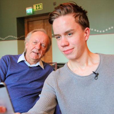 Esko Roine ja Frans Åkerberg