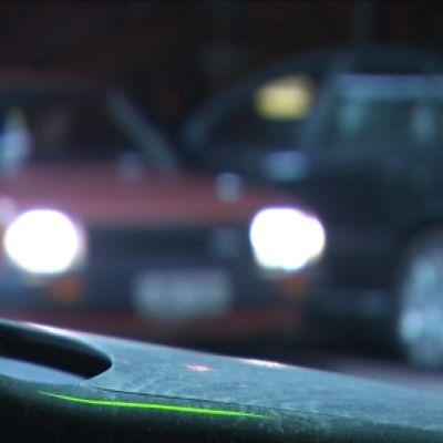 Autot parkissa Ala-Tikkurilan Mc Donaldsilla