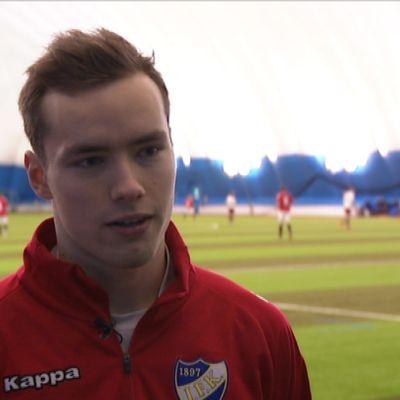 Carljohan Eriksson, målvakt, HIFK