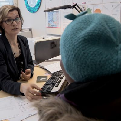 Kristiina Kaitavuori, Uudenmaan TE-toimistosta