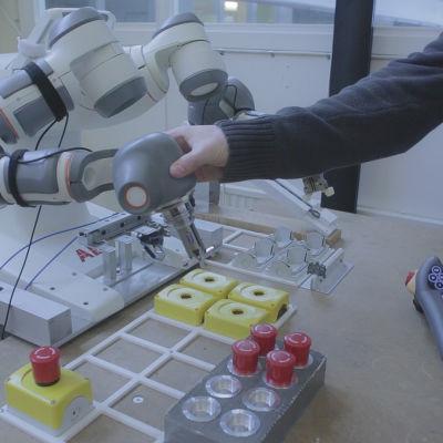 Bollfångarrobot, Lunds universitet.