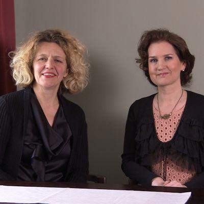 Anna Ruohonen och Pia-Maria Lehtola